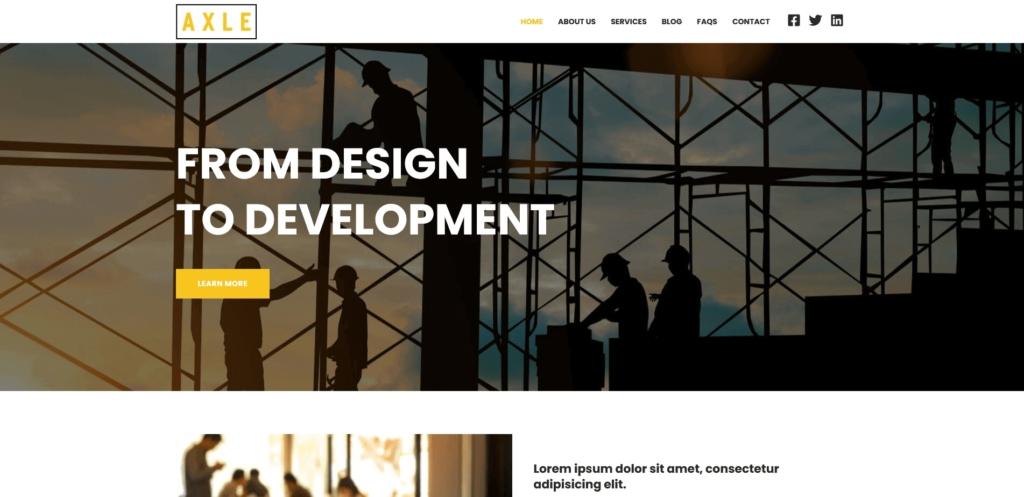 Axle Website