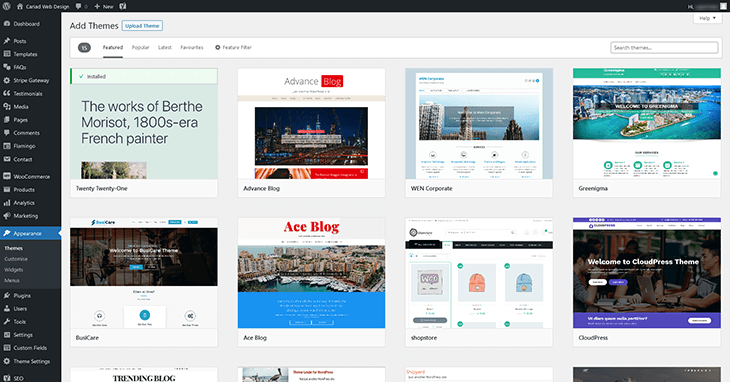 wp-theme-library